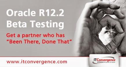 oracle r12.2 beta tester